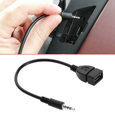 $3.10 • Buy Audio AUX Jack 3.5mm Male To USB 2.0 Type A Female OTG Converter Adapter Cables