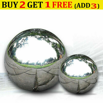 $10.59 • Buy 304 Stainless Steel Mirror Sphere Hollow Ball For Home Garden Decor 16m-200mm TE