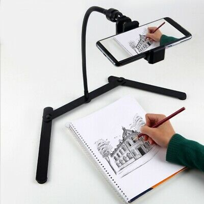 AU31.99 • Buy 1X(Adjustable Tripod With Cellphone Holder, Overhead Phone Mount, Table TopI4F3)