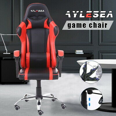 AU100.99 • Buy AYLESEA Gaming Chair Office Executive Computer Chairs 360°Swivel Racing Recliner