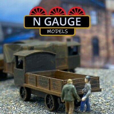 £11.99 • Buy Steam Wagon Flatbed N Gauge Scale 1:148 (Ready To Go!) Haulage Lorry / Truck