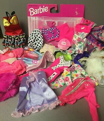 $ CDN25.05 • Buy Lot Of Vintage Barbie Doll Clothes (Many Tagged)