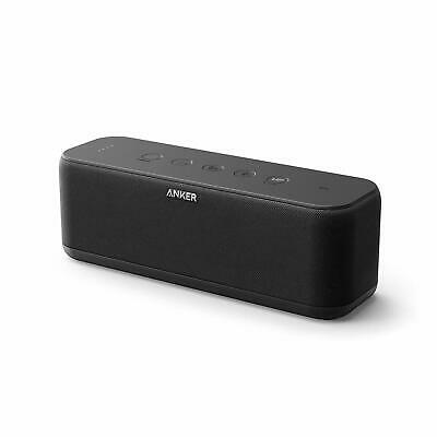 AU113.27 • Buy Upgraded; Anker Soundcore Boost Bluetooth Speaker With Well-Balanced Sound; Bass