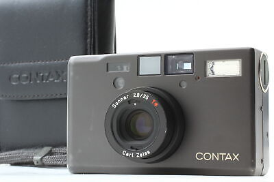 $ CDN3007.67 • Buy [Near MINT Double Teeth] Contax T3 Titan Black Point & Shoot Camera Case JAPAN