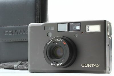 $ CDN3245.98 • Buy [Near MINT Double Teeth] Contax T3 Titan Black Point & Shoot Camera Case JAPAN