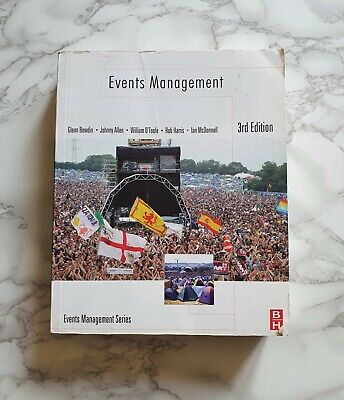 £10 • Buy Events Management 3rd Edition, Bowdin