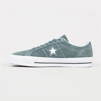 £37.99 • Buy Converse Mens All Star CONS One Star Pro Ox Hasta Grey Suede Sneaker Trainers