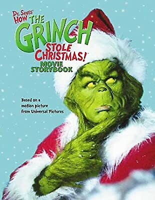 £3.41 • Buy How The Grinch Stole Christmas! Movie Storybook, Who-Biddy, Clarinella & Gikow,