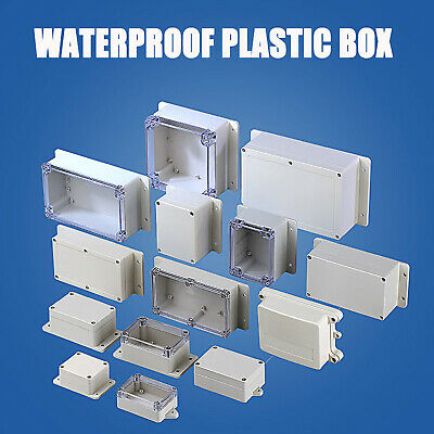 £5.19 • Buy 27 Size Plastic Electronics Project Box Enclosure Instrument Case DIY With Screw