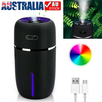 AU21.89 • Buy Mini Ultrasonic Aroma Diffuser USB Car LED Air Purifier Essential Oil Humidifier