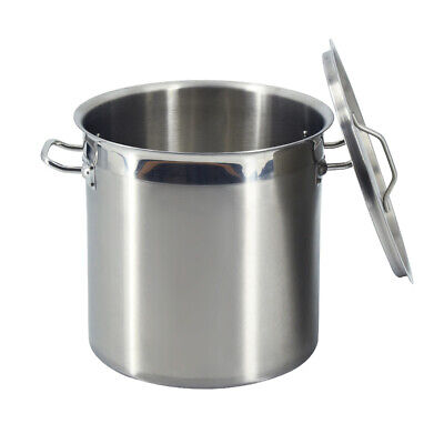 £99 • Buy 50 Liter Stsainless Steel Deep Stockpot Cater Stew Soup Cooking Pot With Lid