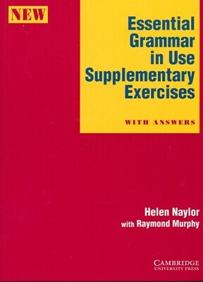 £8.38 • Buy Naylor, Helen; Murphy, Raymond - Essential Grammar In Use Supplementary Exercise