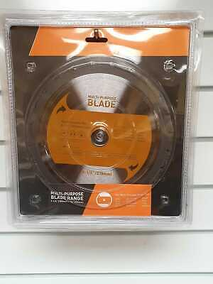 £18.95 • Buy MULTI PURPOSE TCT BLADE 210MM Suitable For EVOLUTION RAGE SAWS