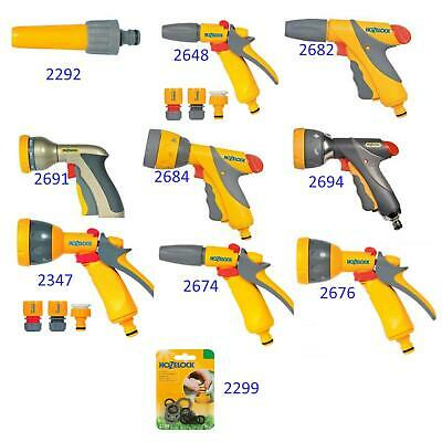£9.16 • Buy Fast Watering Spray Jet Gun Nozzles And HosePipe Attachments By HOZELOCK