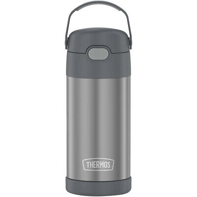 AU21.91 • Buy Thermos 12 Oz. Kid's Funtainer Insulated Water Bottle - Gray