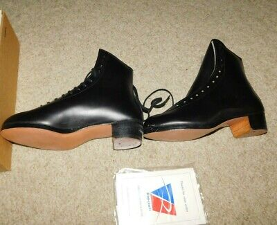 $179.95 • Buy New Old Stock Riedell Mens F355 Figure / Roller Skating Boot Only Sz 7.5 M Black