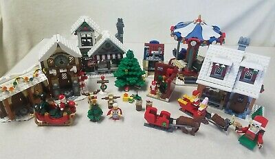 LEGO Winter Village LOT 10245, 10216, 10199, 10235, More Incomplete As Is • 71.78£