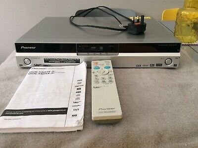 £45 • Buy PIONEER DVR-440HX HDD/ DVD Player Recorder DVB With Remote User Manual