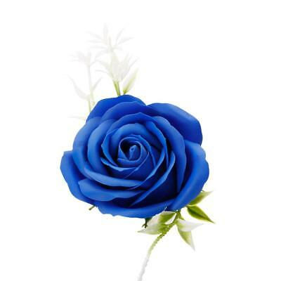 AU3.50 • Buy Preserved Single Rose Soap Flower Gift Box Valentines Day Gifts (Blue)