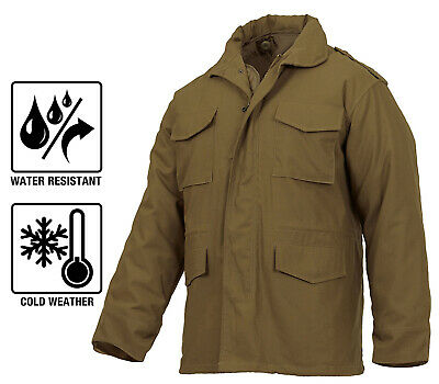 $88.99 • Buy M-65 Field Jacket Coyote Brown Coat With Liner Winter Jacket Military Style 3896