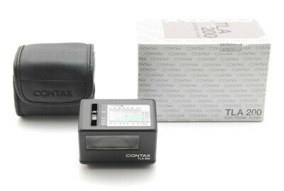 $ CDN338.35 • Buy 【MINT In Box】 Contax TLA 200 Black Shoe Mount Flash + Case For G1 G2 From JAPAN