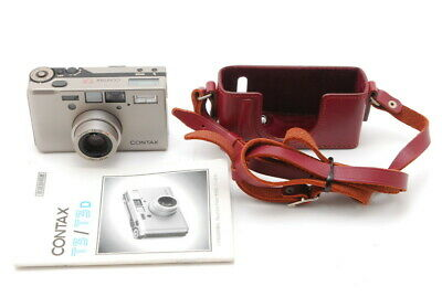 $ CDN2249.63 • Buy 【MINT + Case】 Contax T3 35mm Point & Shoot Film Camera From JAPAN H25