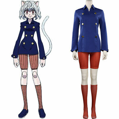 $ CDN68.74 • Buy Hunter X Hunter Neferpitou Cosplay Costume Outfits Halloween Carnival Suit