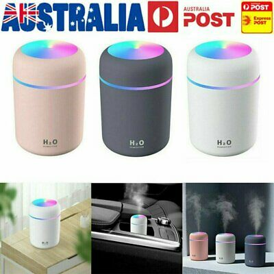 AU16.92 • Buy Electric Air Diffuser Aroma Oil Humidifier Night Home Car Relax Defuser Light AU