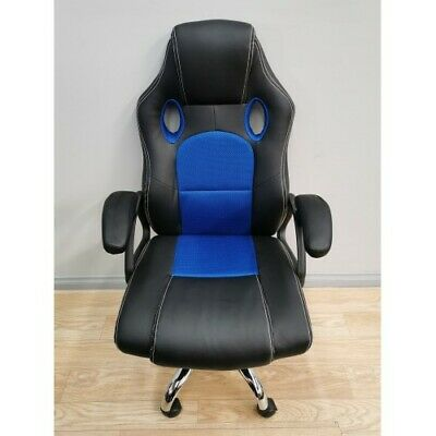 AU128 • Buy Ultra Gaming Comfort Manager Computer Laptop Pc Office Chair Blue Ut-c588tb  G1