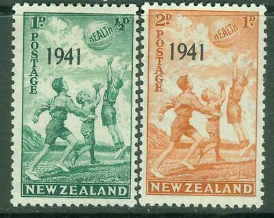 AU4 • Buy  New Zealand. Health.1941. Set Of 2. MH.