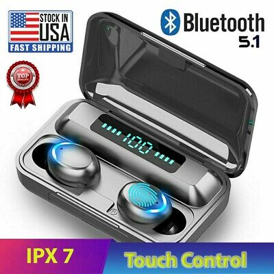 $ CDN12.49 • Buy Bluetooth Earbuds For Iphone Samsung Android Wireless Earphone IPX7 WaterProof