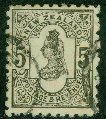 AU25 • Buy New Zealand. 1893. SSF. 5d. P10. U.