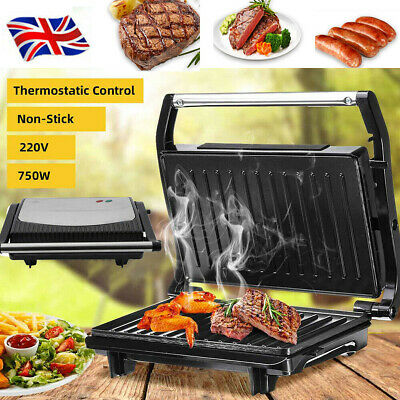 £22.39 • Buy 750W Sandwich Toaster Maker Panini Beef Sausage Grill Non Stick Stainless Steel