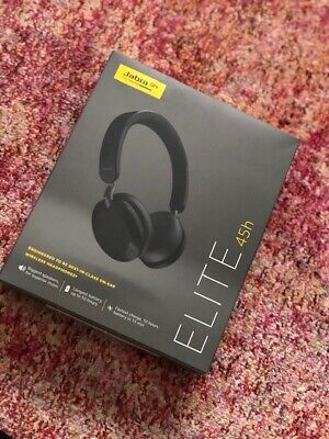 $ CDN1.71 • Buy Jabra Elite 45h Black Wireless Headphones Brand New RRP £90