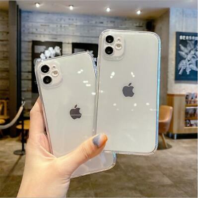 £1.99 • Buy CLEAR Protector Silicone Cover CASE For IPhone 12 11 Pro Max Mini XS XR SE X 8 7
