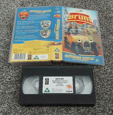 £8.50 • Buy Brum Runaway Statue And Other Stories Pal Vhs Video Kids Children
