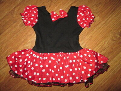 $ CDN12.49 • Buy Girls Toddler MINNIE MOUSE HALLOWEEN COSTUME Sz M Md Med Toddler