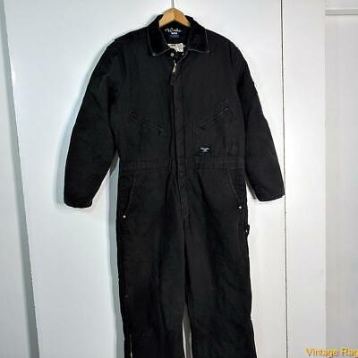 $34.99 • Buy WALLS Workwear Cotton Work Coveralls Mens Size L Black Insulated