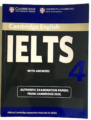£11 • Buy Cambridge IELTS 4 Student's Book With Answers