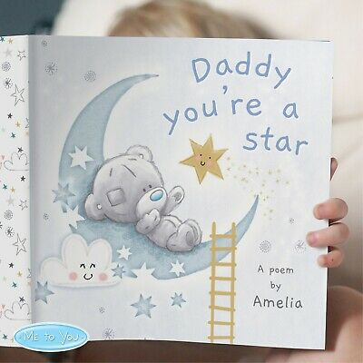 £12.99 • Buy Personalised Book Gift For Daddy Him Birthday Dad Grandad Fathers Day Poem