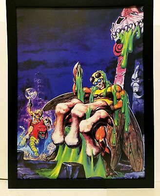 $34.95 • Buy He-Man Masters Of The Universe Slime Pit By Earl Norem 9x12 FRAMED Art Print Pos