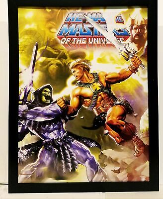 $34.95 • Buy He-Man & Masters Of The Universe By Dave Wilkins 9x12 FRAMED Art Print Poster