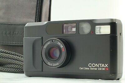 $ CDN2172.63 • Buy [N MINT In Case] Contax T2 Limited Black 35mm Film Camera From Japan