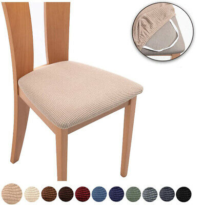 AU12.99 • Buy Spandex Jacquard Dining Chair Seat Covers Removable Seat Cushion Slipcovers