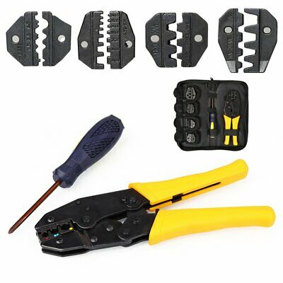 £14.89 • Buy PRO Ratchet Crimper Plier Crimping Tool Cable Wire Electrical Terminals Kit Sets
