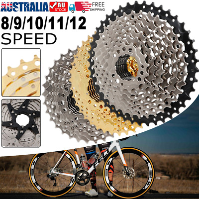 AU46.49 • Buy 8/9/10/11/12 Speed MTB Bike Cassette Cogs 11-50T Freewheel For Shimano Bicycle