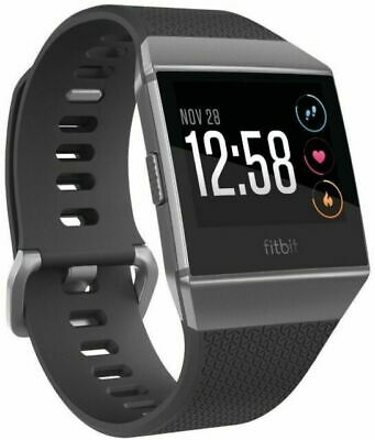 $ CDN51.24 • Buy Fitbit Ionic Bluetooth Activity Tracker - Charcoal/Smoke Grey, One Size...