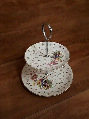 £9.99 • Buy 2 Tier Cake Stand Afternoon Tea