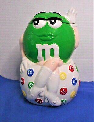 $44.99 • Buy M & M  I Melt For No One  Character Cookie Jar By Benjamin And Medwin 2001