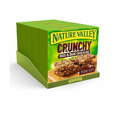 £14.90 • Buy Nature Valley Oat & Chocolate Cereal Bars - 10 Bars (Pack Of 5, Total 50 Bars)
